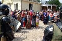 В Плеханово начали сносить дома в цыганском таборе, Фото: 157