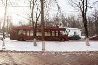 Бесхозный пакет в троллейбусе, Фото: 4