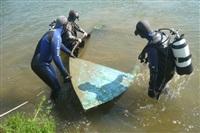 Водолазная группа регионального МЧС очищает дно акваторий пляжей, Фото: 4