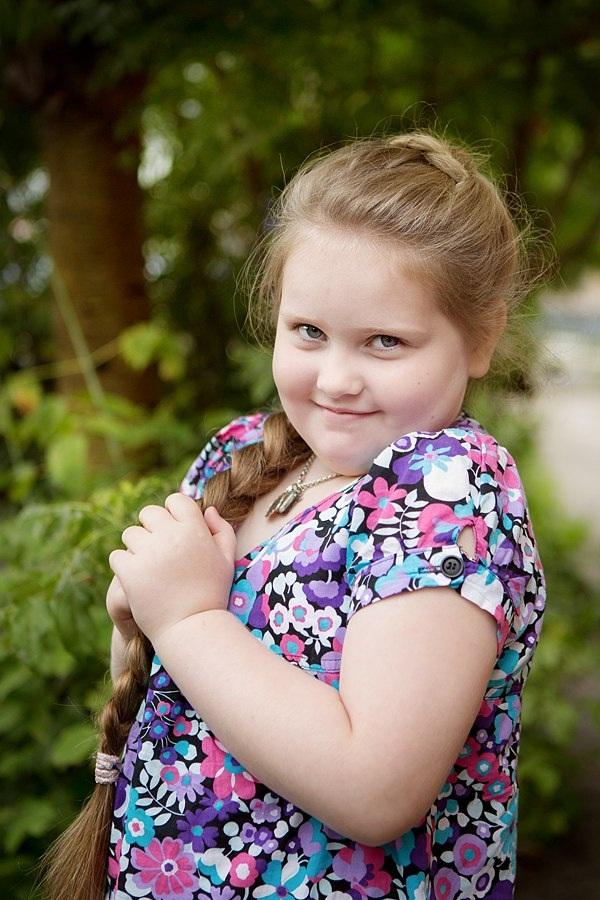 Марья-краса Длинная Коса.( Маша Мелехова, 7 лет)