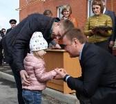Воловские новоселы поручили ключи от квартир из рук Алексея Дюмина, Фото: 4