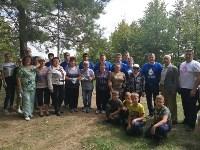 «Экопатруль» в Одоеве навел порядок у памятника конникам генерала Белова, Фото: 14