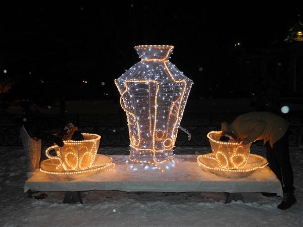 Чаепитие в центре города зимой - до дна!!!