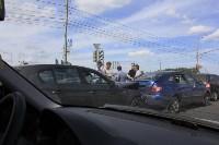 Фото с места аварии на ул. Рязанская в Туле днём 13 июня 2015 года , Фото: 4