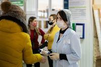 В Киреевске поликлинике помогают волонтеры, Фото: 2