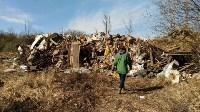 В Туле на берегу Тулицы обнаружен незаконный мусорный полигон, Фото: 20