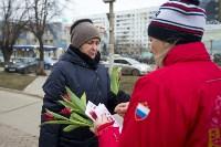 Пролетарский глава Сергей Шестаков поднял тулячкам настроение, Фото: 5