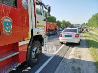 В серьезном ДТП под Тулой пострадали шесть человек, Фото: 6