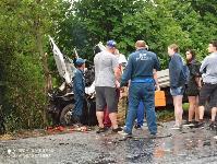 В Тульской области в ДТП с двумя грузовиками погиб водитель, Фото: 3