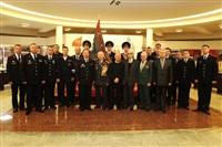 В Туле прошла церемония крепления к древку полотнища знамени регионального УМВД, Фото: 2