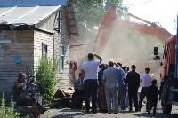 Снос домов в Плеханово. 23 июня 2016, Фото: 9