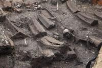 На Крестовоздвиженской площади Тулы обнаружено кладбище 18 века, Фото: 8