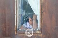 В Плеханово вновь сносят незаконные дома цыган, Фото: 14