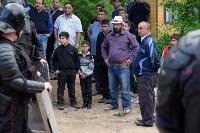 В Плеханово начали сносить дома в цыганском таборе, Фото: 55