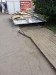 Снос двух торговых павильонов на Фрунзе, Фото: 2