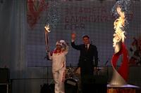 Этафета олимпийского огня. Площадь Ленина, Фото: 14
