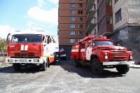 Пожар на на пересечении улиц Гоголевской и Свободы , Фото: 20
