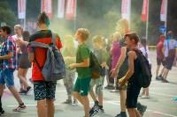 В Туле прошел фестиваль красок и летнего настроения, Фото: 25