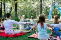 В Центральном парке прошла тренировка по пилатесу, Фото: 4