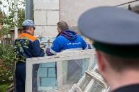 Группа быстрого реагирования УФССП помогла повторно за долги отключить тулячке газ, Фото: 20