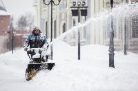 Последствия снежного циклона в Туле, Фото: 88