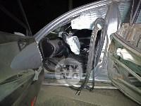 Крупное ДТП на ул. Металлургов в Туле: Nissan снес столб, пассажирку вышвырнуло из машины, Фото: 6