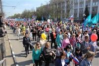 Тульская Федерация профсоюзов провела митинг и первомайское шествие. 1.05.2014, Фото: 66