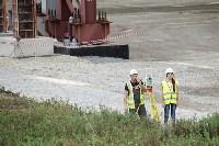 В Туле министр промышленности и торговли РФ  осмотрел  стройплощадку ООО «Тулачермет-Сталь», Фото: 16