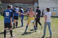 Тульские журналисты сыграли в футбол с зэками, Фото: 35