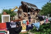Плеханово, итоги дня: В таборе принудительно снесли первые 10 домов, Фото: 8