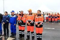 В Суворовском районе  введен в эксплуатацию участок автодороги «Калуга-Перемышль-Белёв-Орёл», Фото: 27