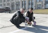 Субботник в Комсомольском парке с Владимиром Груздевым, 11.04.2014, Фото: 20
