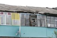 Восстановление домов в селе Воскресенское после урагана. 2.07.2014, Фото: 19