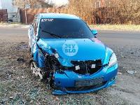 В Туле Mazda-3 сбила рябину и влетела в припаркованный Peugeot , Фото: 7