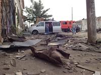Ураган в Ефремове: шифер и стекла летали как пули, Фото: 4