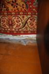 Щель между полом и стеной в спальне, Фото: 3