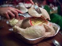 Пирог в виде сырой индейки., Фото: 17