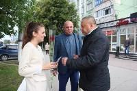 Сергей Шестаков поздравляет тулячек с наступающим днем города, Фото: 3