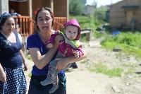 В Плеханово начали сносить дома в цыганском таборе, Фото: 17
