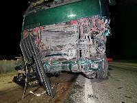 На выезде из Тулы BMW влетел в фуру: один человек погиб, Фото: 14