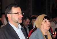 Пасхальная служба в Успенском соборе. 20.04.2014, Фото: 40