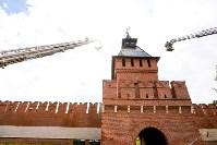 Учения МЧС в Тульском кремле, Фото: 32