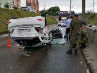 В Туле в ДТП с военным КамАЗом и такси пострадали три человека, Фото: 2