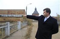 16 октября Владимир Груздев проконтролировал ход работ по благоустройству набережной, Фото: 1