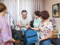 Вручение виброжилета инвалиду, Фото: 16