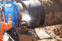 Как ведется монтаж водовода, питающего водой Пролетарский округ Тулы. Фото, Фото: 26