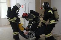 В Туле сотрудники МЧС эвакуировали госпитали госпиталь для больных коронавирусом, Фото: 34