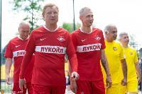 Ветераны «Спартака» и «Арсенала» сыграли в Туле на новом поле Центрального стадиона, Фото: 16