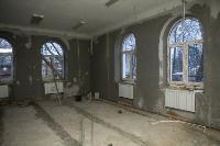 Дмитрий Миляев проверил, как идет ремонт вечерней школы на ул. Зорге, Фото: 21