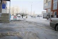 Прорыв водопровода на ул. Арсенальной. 22 января 2014, Фото: 2